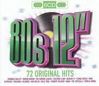 """ORIGINAL HITS - 80S 12"""" various (6X CD, compilation, sealed) synth pop, pop rock"""