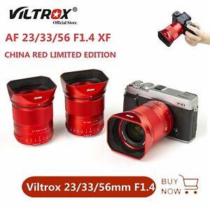 Limited Viltrox 23mm 33mm 56mm F1.4 APS-C Auto Focus Lens For Fujifilm X-Mount