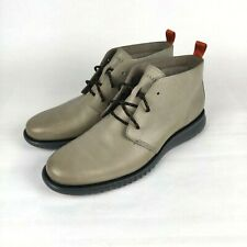 Cole Haan 2 ZeroGrand Mens US 10 Gray Chukka Boots C30310