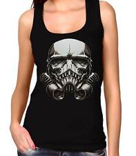 Camiseta Mujer Tirantes Stormtrooper Skull Monster women's tank top chica