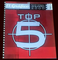 YEARBOOK 2000 El grafico Special Magazine Football Soccer Argentina