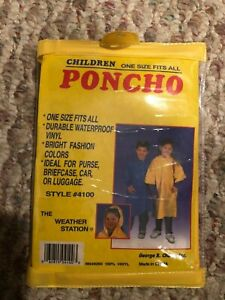 Children's One Size Fits All Poncho