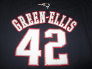 Reebok BENJARVUS GREEN-ELLIS No. 42 NEW ENGLAND PATRIOTS (LG) T-Shirt Jersey