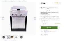 Char-Broil Medallion Dual Burner Outdoor Kitchen Stove