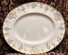 """Royal Crown Derby Vine Gold, 15.25"""" platter"""