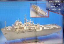 Hobby's MM22 Matchmodeller -Oil Rig Support Matchstick Model Boat Kit - T48 Post