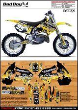 Bad Boy Motocross Graphics Suzuki RM 125/250 1999-2000 Dirt Bike Graphics