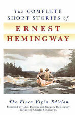 Complete Short Stories of Ernest Hemingway-ExLibrary