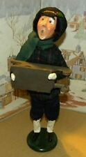 Byers Choice Shopper Man with Wooden Sled 1994 47/100 *