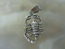 Skorpion Ketten Anhänger Sternzeichen mit Edelstahl Schlaufe