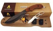 Ka-Bar KaBar Johnson Adventure Potbelly Fixed + Sheath 5600