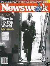 Newsweek magazine President Barack Obama Mumbai Al Gore Mexico drug warfare