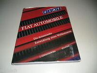 Libro Ilustrado Fiat Automóvil La Dinámica Desarrollo Uno Weltkonzerns