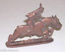 Ancienne figurine : Cavalier INDIEN - CONQUETE de l'OUEST