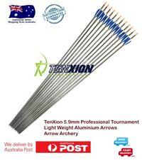 24x 5.9mm TenXion Pro Tournament Aluminium Arrows Archery Arrow Target Shooting