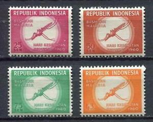 38160) Indonesien 1960 MNH World Health Day 4v