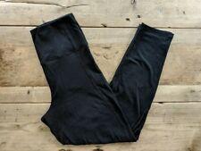 PINK VICTORIA'S SECRET PURE BLACK HIGH WAIST ESSENTIAL ANKLE LEGGING YOGA VS