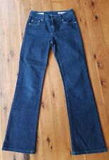 JAG JEANS Dark Navy High Rise Reg Fit Boot Cut Stretch Jeans Size 6