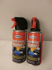 2 Pack Air Duster Electronics Computer Monitor Keyboard dust Remover Spray 2oz
