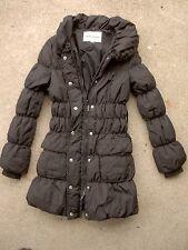 Vero Moda duck Down zip front coat size: 160/80A