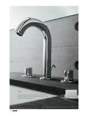 Kohler Oblo 10086-9-SN POLISHED NICKEL Widespread Bathroom Faucet w/Oval Handles