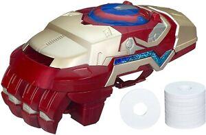 MARVEL - Iron Man 3 - Motorized Arc FX - Gauntlet - Hasbro 2012 - Fires Discs