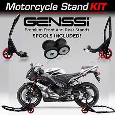 Pro Bike Stand Kit Front & Rear Lift Spool Package for Honda CBR600RR 2003-2012