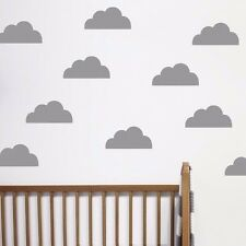 Popular cute cloud pattern Wall Stickers Removable Baby bedroom kids living room