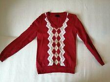 Tommy Hilfiger Pullover hell Rosa Sweatshirt Gr. M Neuwertig