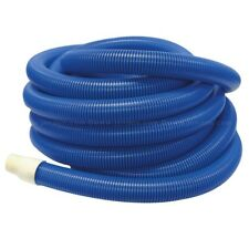 "Carpet cleaning hose 2"" bore  50 feet 15m length blue with cuffs - Best quality"
