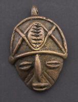 Ciondolo Baule Africano Arte Tribale Antenato Porta Chiavi Bronzo Etnico 26181