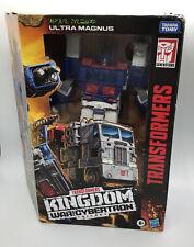 Transformers Kingdom Ultra Magnus Figure War For Cybertron Leader Class New.