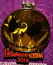 Disney Halloween Screams 2014 NBC JACK stained glass ZERO DLR LE Pin