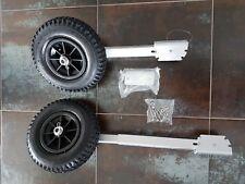 Sliphilfe Heckräder Slipräder für Schlauchboot aus Aluminium höhenverstellbar