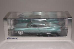 Spark Models, 1962 Cadillac Model 62 Sedan with Original Box 1/43 Scale