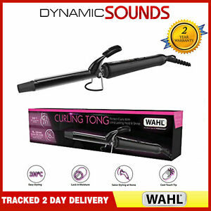 Wahl ZX911 Professional 16mm Ceramic Hair Curling Iron Tong Curler Wand 200°C