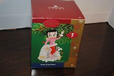 Carlton Cards Heirloom Ornament Collection Betty Boop Queen of Slopes Xmas Tree