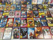 DVD Sammlung Kinder Filme 30 Stück bunte Mischung Disney Pixar Dreamworks Deutsc
