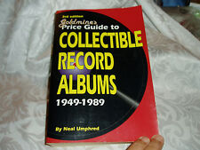1949 - 1989 3rd Edition Goldmines Price Guide, Collectible Record Albums, 800 pg