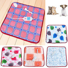Waterproof Pet Electric Heat Heated Heating Pad Mat Blanket Bed Cat Dog Bed