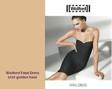 Wolford Fatal Dress • S • golden haze ... auch als Kleid Rock Mini oder Top