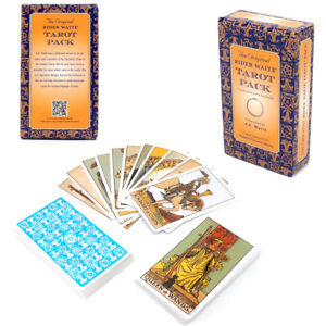 Tarot Cards Deck The Rider Waite English Version Future Telling Divination Game