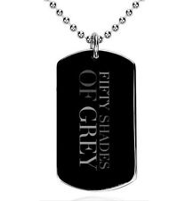 Fifty shades of Grey , 50, - Colgante, Dog Tag, Placa militar