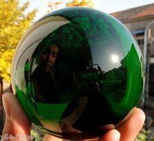 New Natural Quartz Green Magic Crystal Healing Ball Sphere 100MM + (free Stand)T