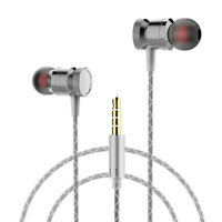 Bass Stereo In Ear Earbuds Headphone 3.5mm plug Sport Earphone Headset With Mic