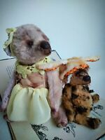 Teddy Big Bear Masha OOAK Artist Teddy by Voitenko Svitlana