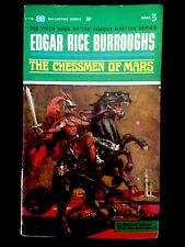 EDGAR RICE BURROUGHS - The Chessmen of Mars - Ballantine, oct 1963 - bon état