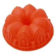 Castle Crown Silicone Cake Mold Pan Muffin Chocolate Pastry Baking Tray Mould LD