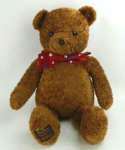 "Vintage (2002) GUND Wish Bear Collectible 100th Anniversary Plush Teddy Bear 26"""