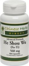 Chinese Herbs Direct, Advanced Formula He Shou Wu, 100 ct